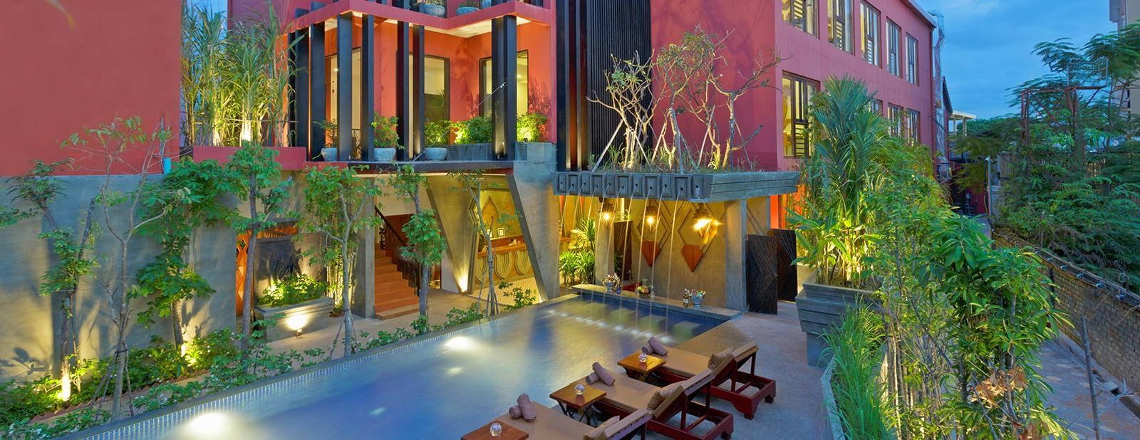 Golden Temple Villa – A Siem Reap Hotel